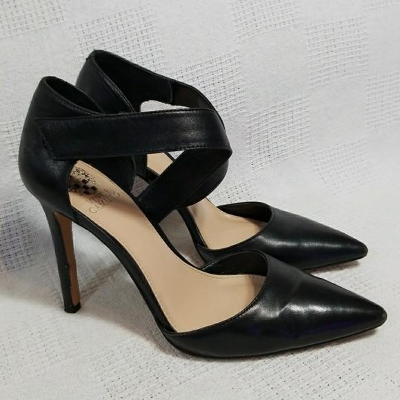 bdfa165183c Vince Camuto Carlotte Leather D'Orsay Pumps 7.5
